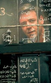 Russel Crowe í hlutverki Nash í kvikmyndinni A Beautiful Mind