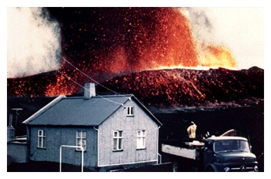Heimaey eruption 1973