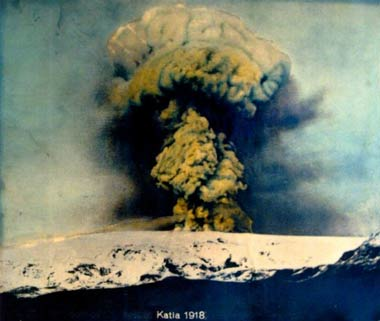 1918 eruption in Katla